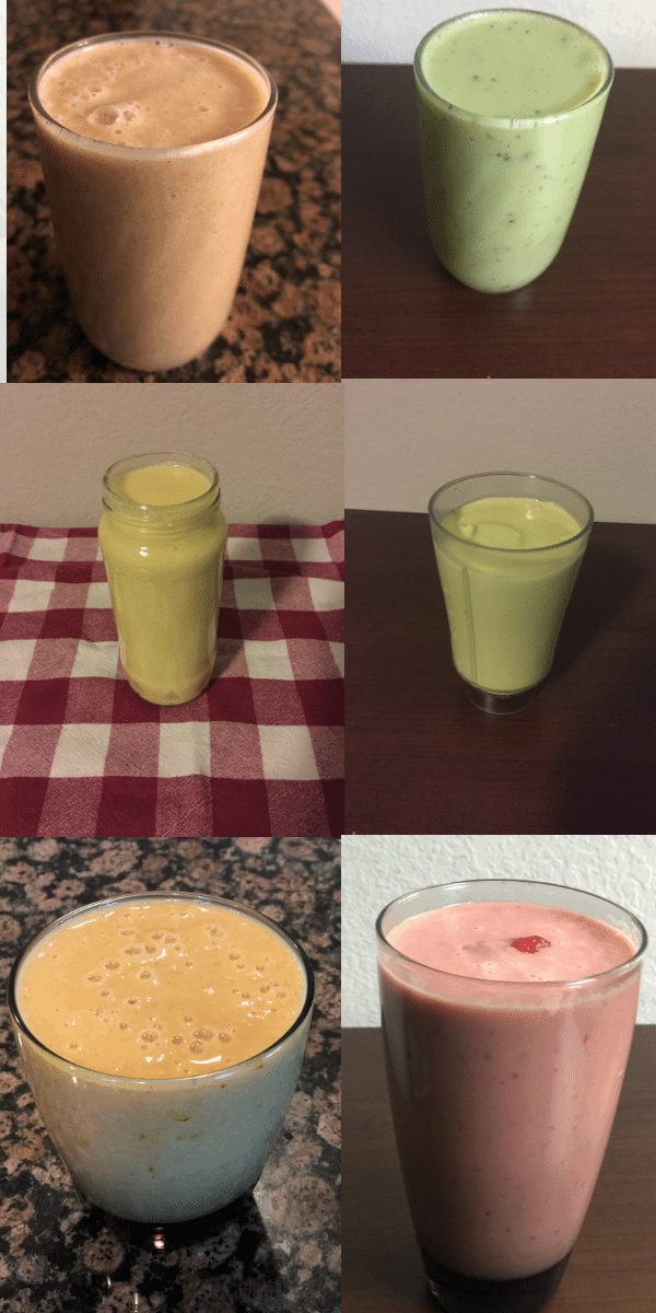 15 Simple Weight loss Smoothies.