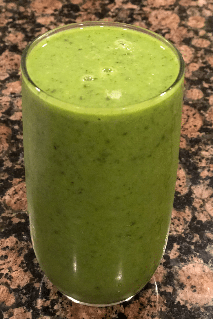 Cucumber,Mint smoothie for weight loss