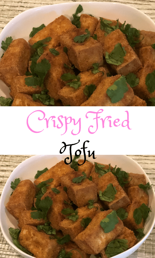 Delicious Crispy Fried Tofu