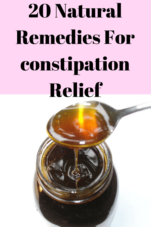 20 Natural Laxatives for constipation