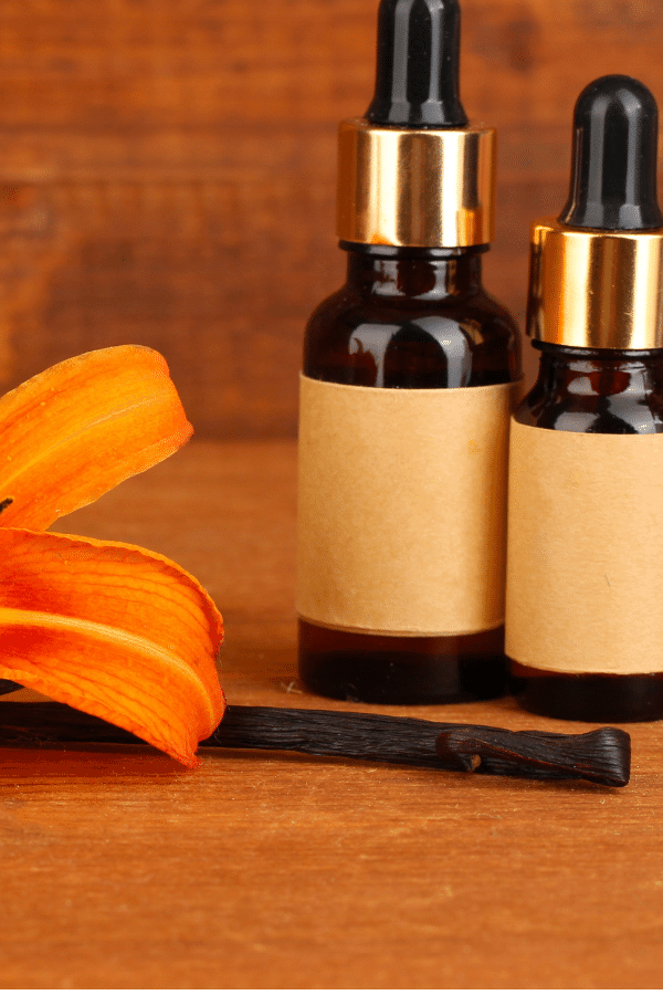 Vanilla essential oil can help with anxiety Relief