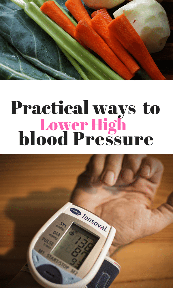 Practical ways to Lower High Blood Pressure.