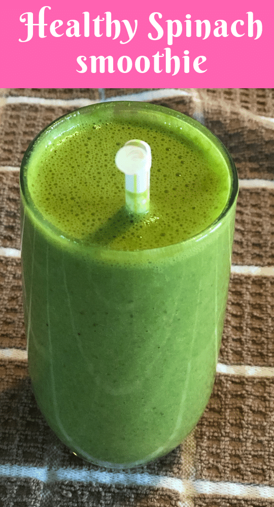 Energizing Spinach Smoothie
