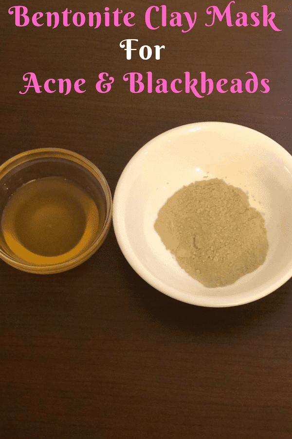 Bentonite Clay Mask for Treating Acne and Black heads