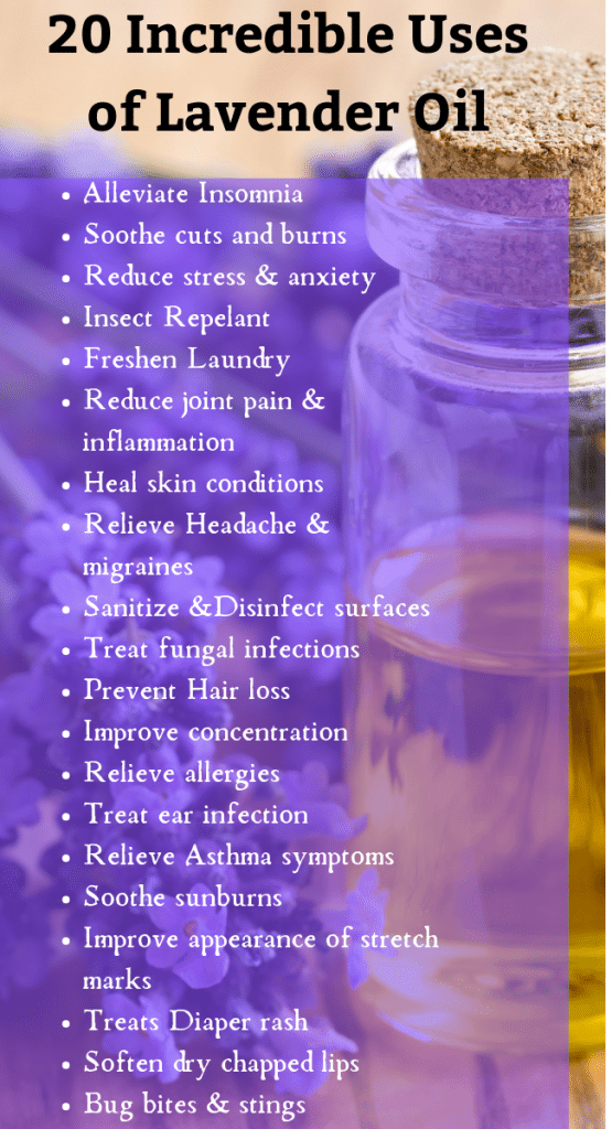 20 Effective Uses and Benefits of Lavender Oil