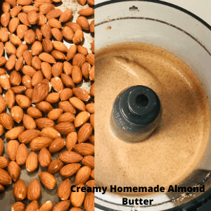 Healthy Homemade Almond Butter (Oil & sugar Free)