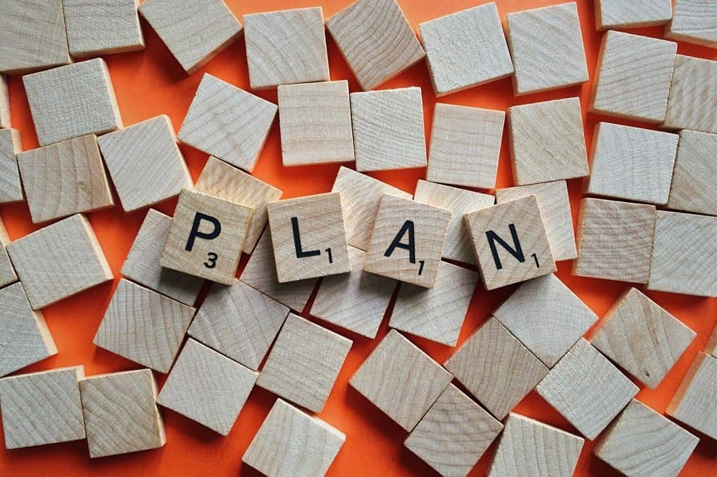 How to relieve stress and anxiety naturally by planning and setting goals